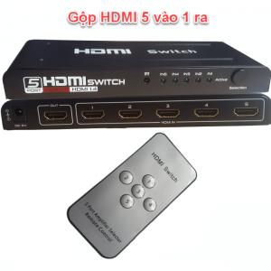 Bộ Gộp HDMI 5 vào 1 ra Cao cấp