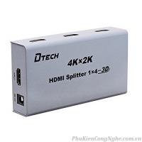 Bộ chia HDMI 1 ra 4 chính hãng Dtech DT-7144