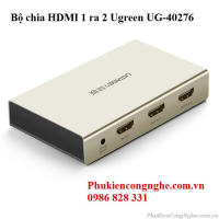 Bộ chia HDMI 1 ra 2 hỗ trợ 4K 2K chính hãng Ugreen UG-40276