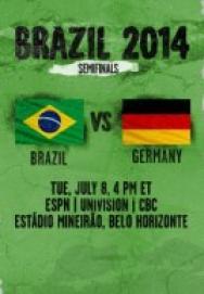 World Cup 2014 – Vòng bán kết – Brazil Vs Đức ()