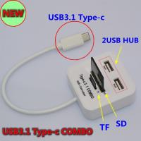 Hub Combo Type-C đọc thẻ nhớ đa năng